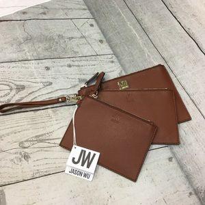 NWT Jason Wu 3-piece wristlet set